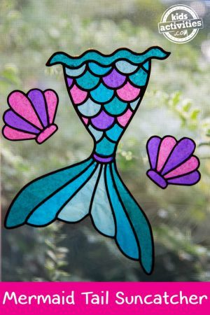 Mermaid Tail Suncatcher