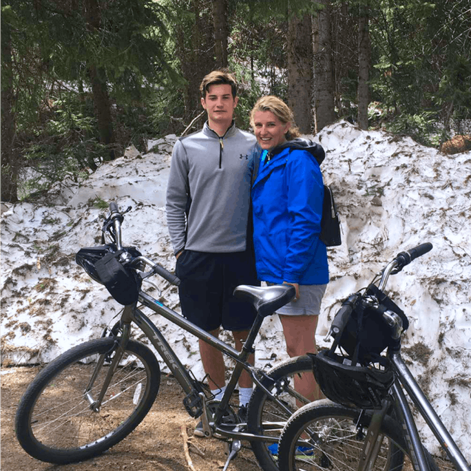 Mom and Son Bike Trip
