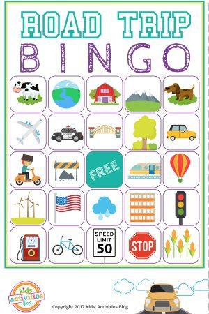 Road Trip Bingo - feature