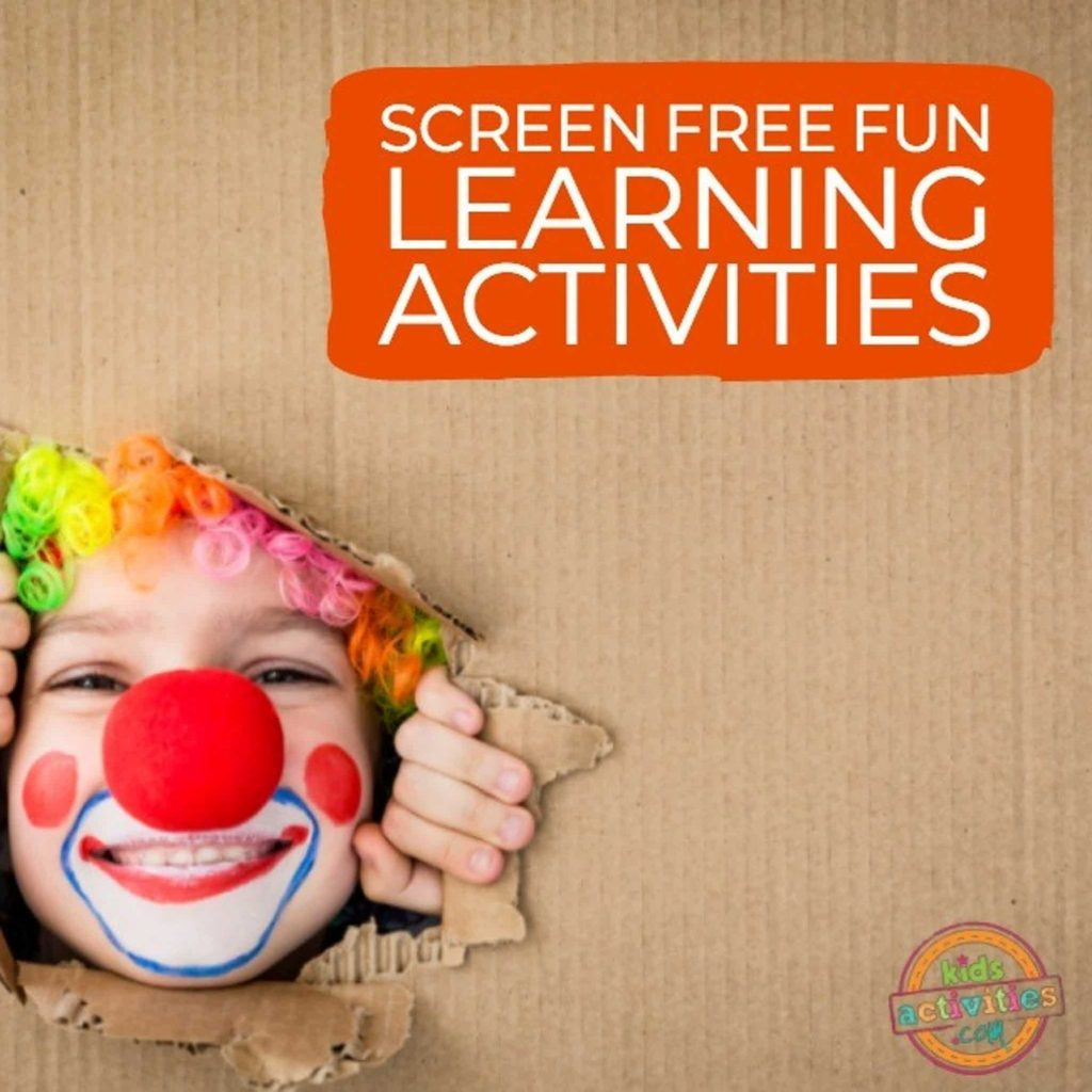 Screen-Free Fun Learning Activities