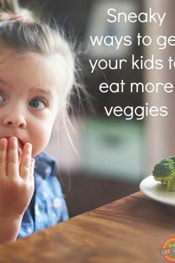 Sneaky Veggies Girl Eating Vegetable