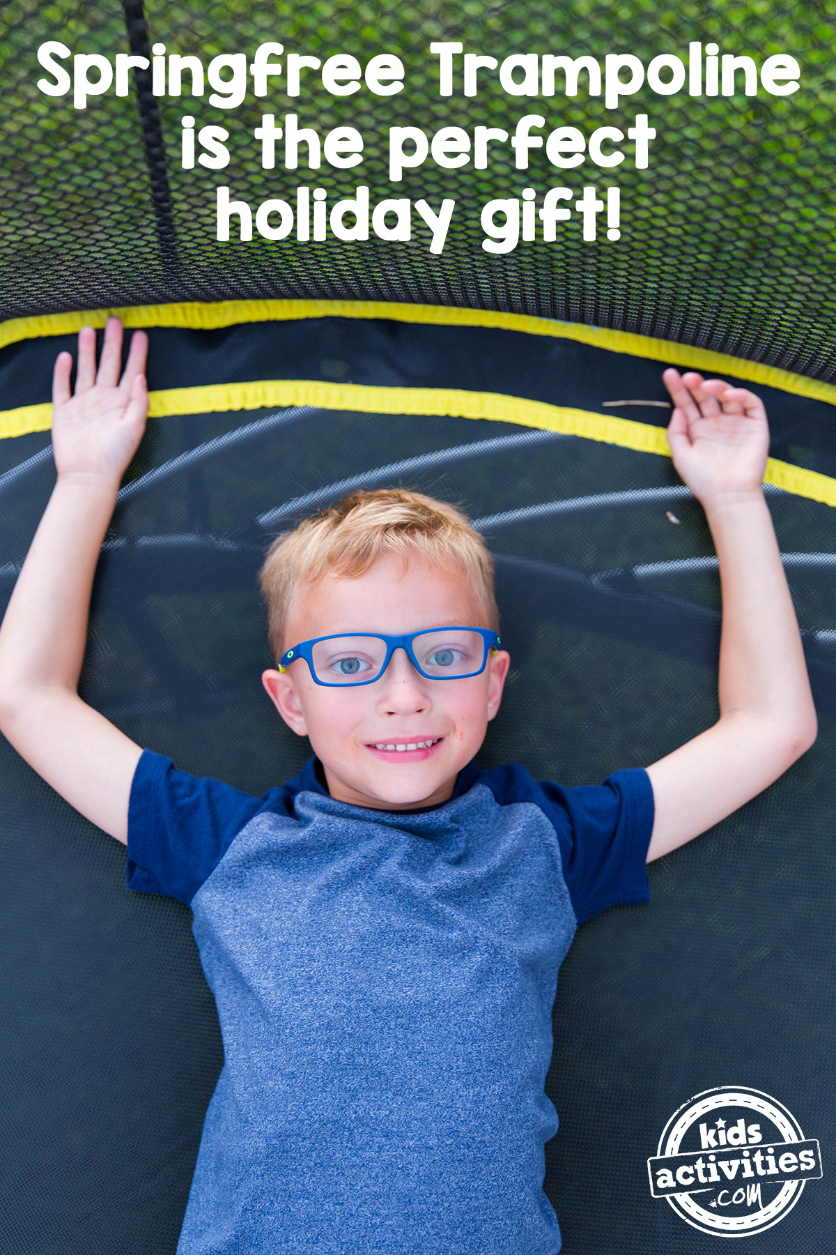 Springfree Trampoline as a holiday gift