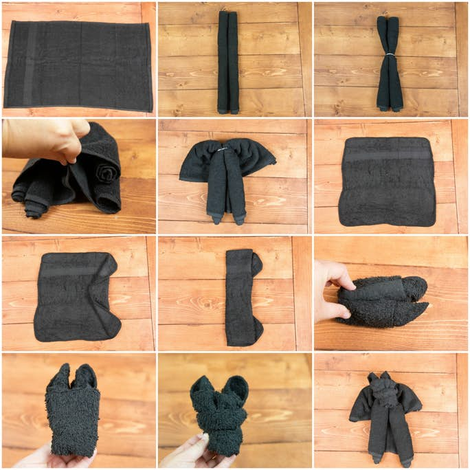 How to Make a Towel Bat