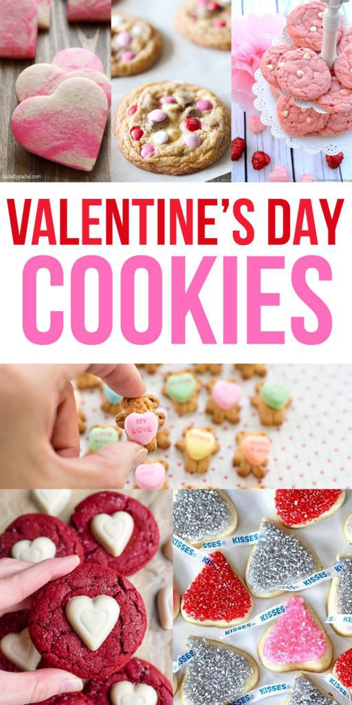 24 Festive Valentine's Day Cookies For You To Bake!
