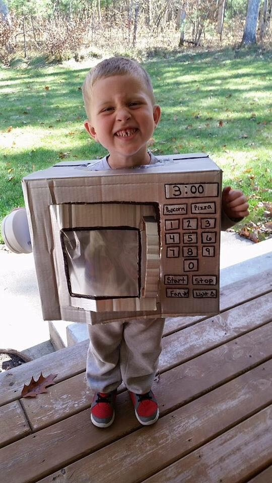 Why I Celebrate Autism on Halloween - microwave