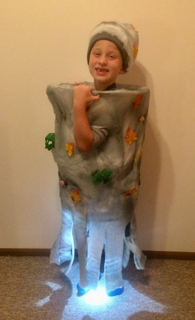 Why I Celebrate Autism on Halloween - tree