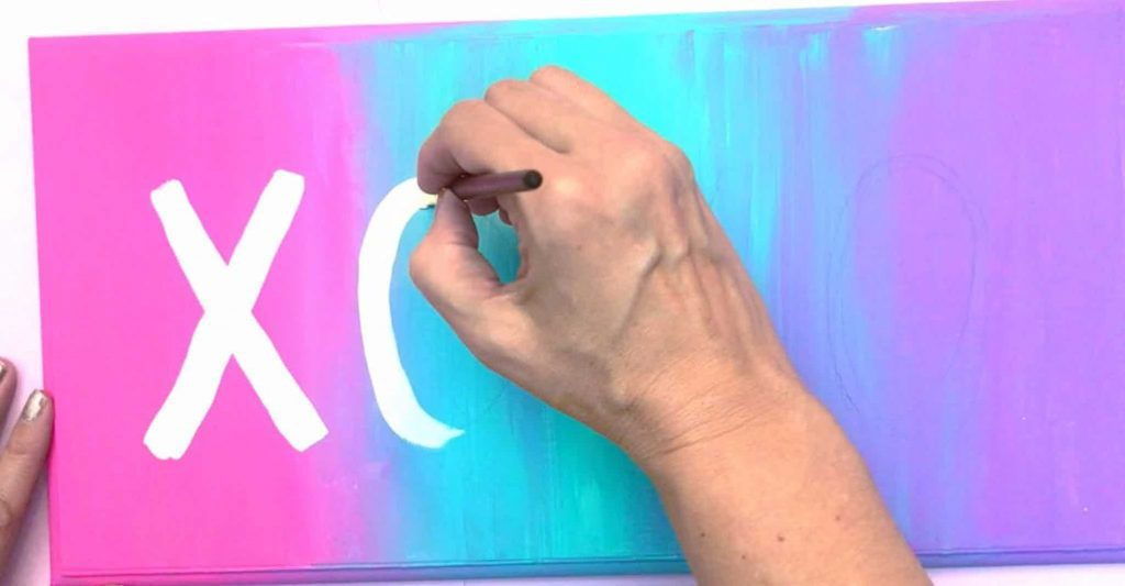 XOXO Wall Sign Early Writing