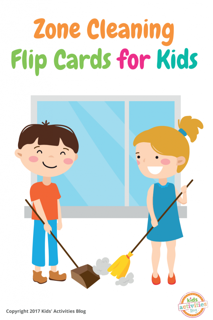 picture about Printable Chore Cards named Printable Zone Cleansing Chore Charts for Youngsters