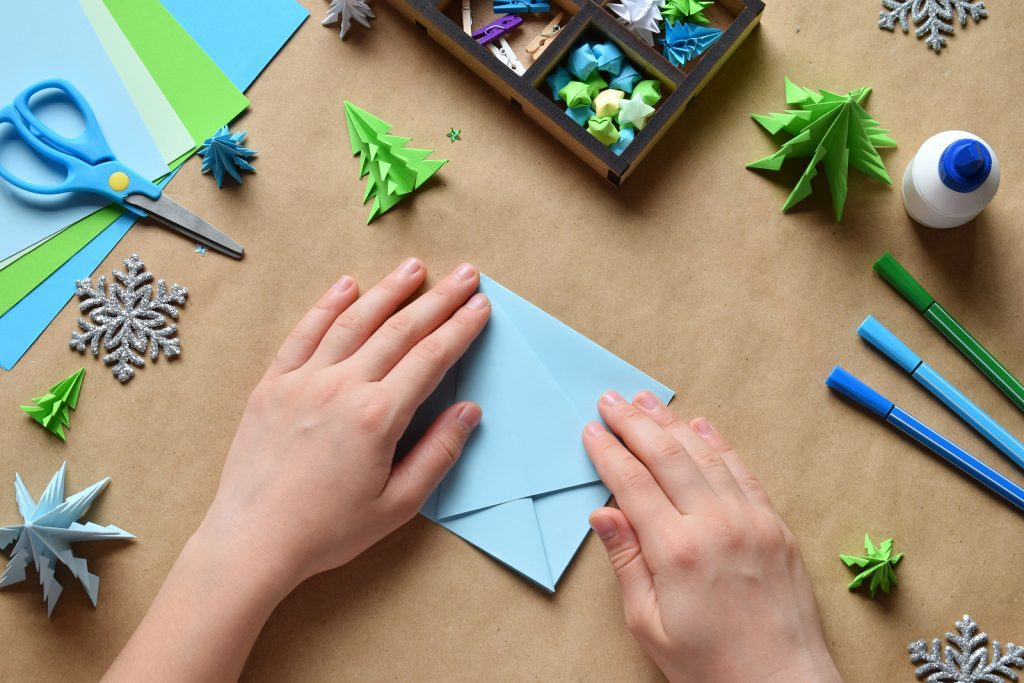 eye hand coordination and crafting