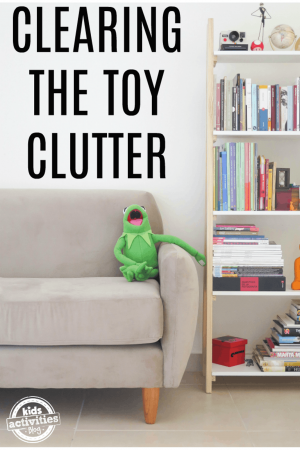 clearing toy clutter