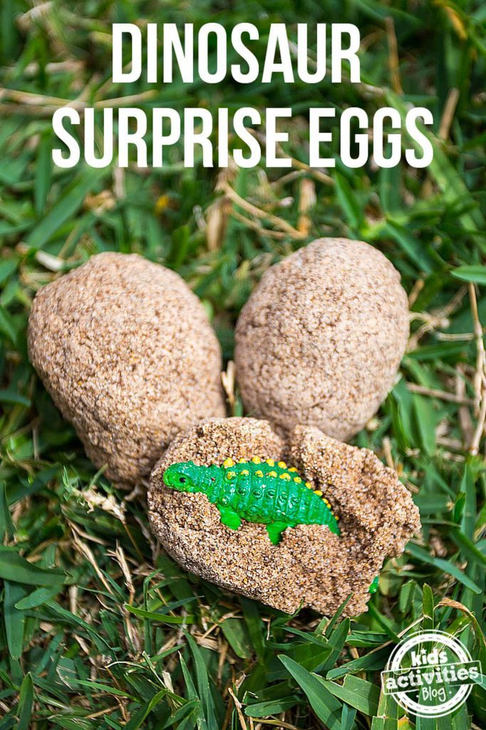 dinosaur surprise eggs - kids activity