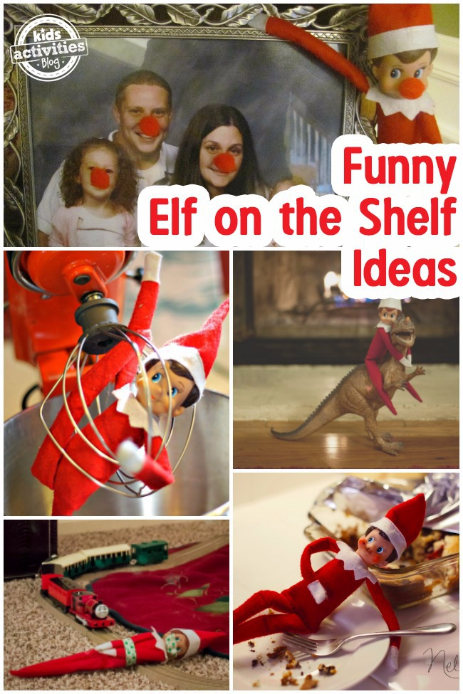 funny elf on the shelf ideas for moving your elf