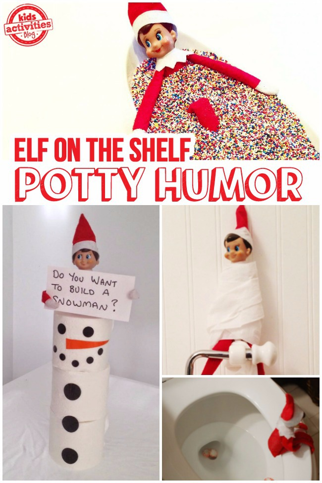 Funny Elf On The Shelf Ideas To Try If You Run Out Of Ideas