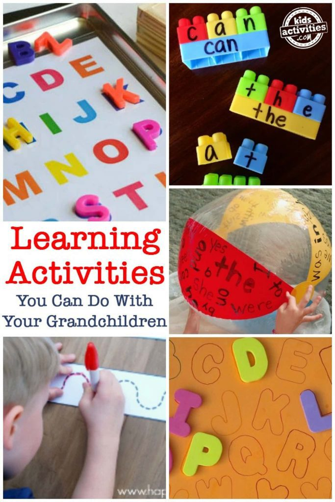 grandkid activities - learning activities you can do with your grandchildren