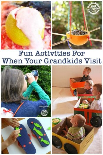 grandkid - fun activities for when your grandkids visit