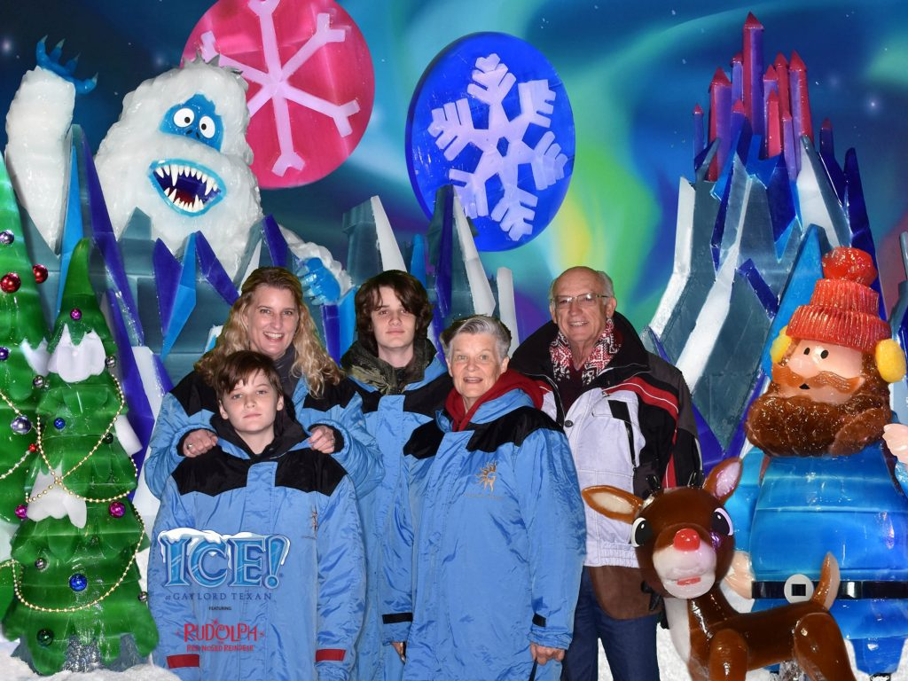 our family at gaylord texan ice