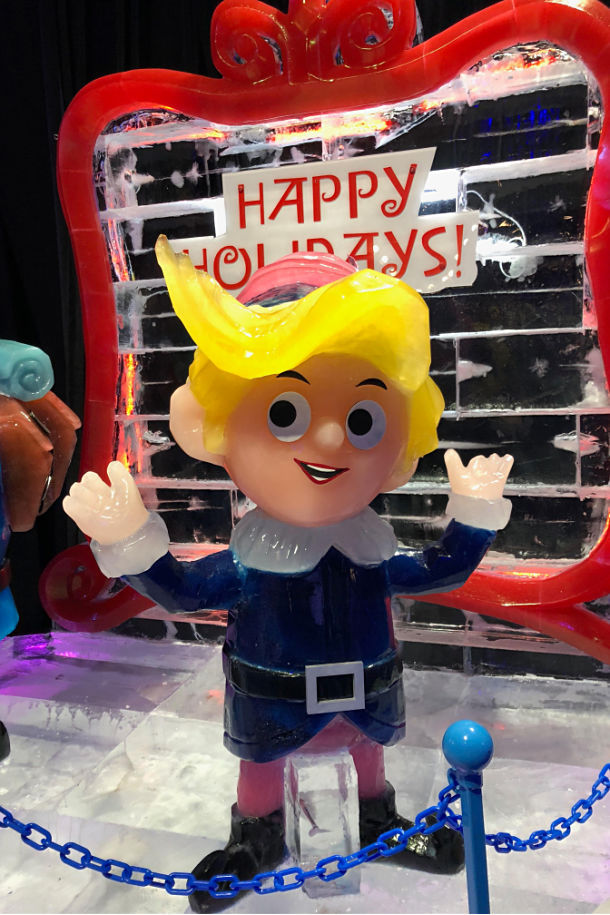ice gaylord texan happy holidays family activity