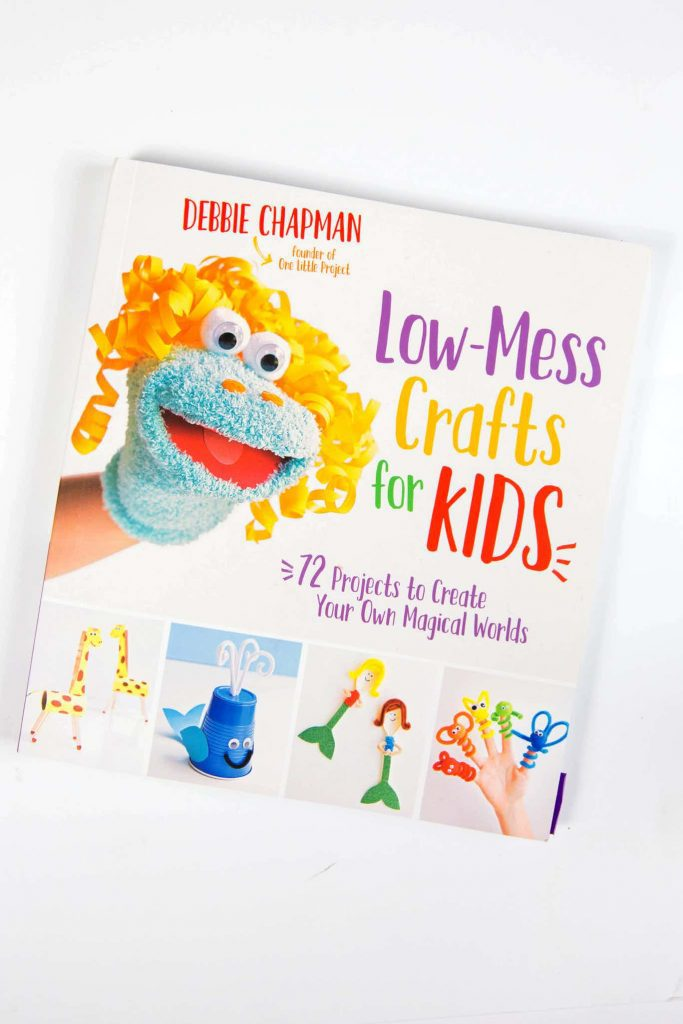 low mess crafts for kids by debbie chapman
