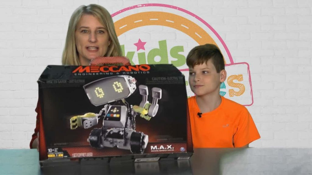 meccano MAX Robot toy unboxing