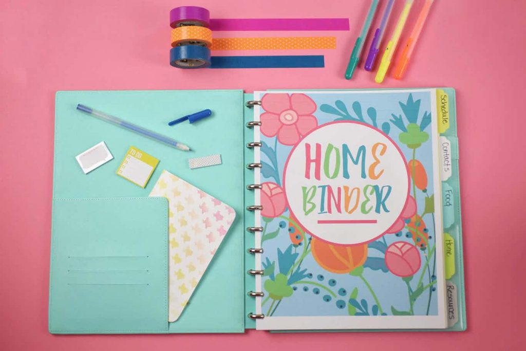 printable home planner