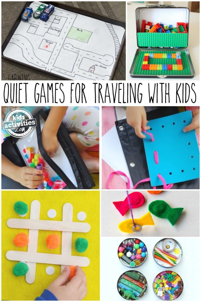 quiet travel games for kids - car games