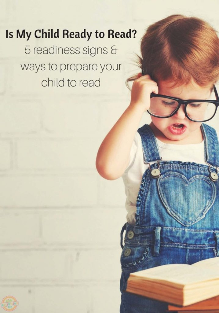 ready to read - child readiness