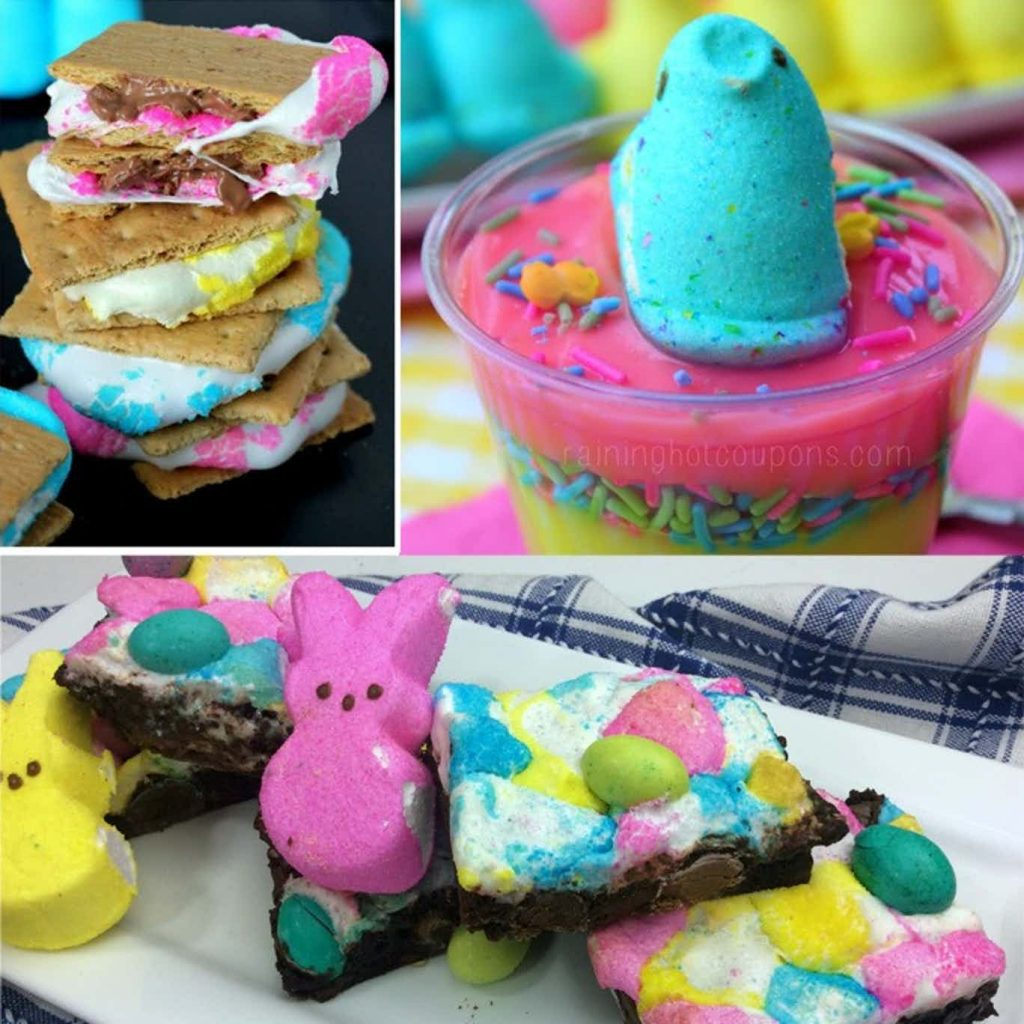 recipes using peeps smores and more