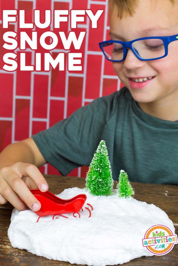 Fluffy Snow Slime