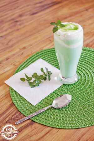 st patricks day shake