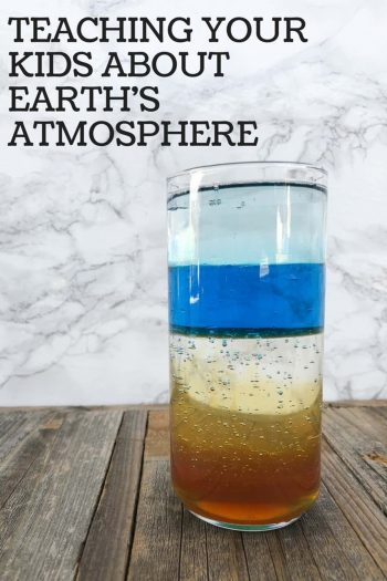 teaching kids about the earths atmosphere