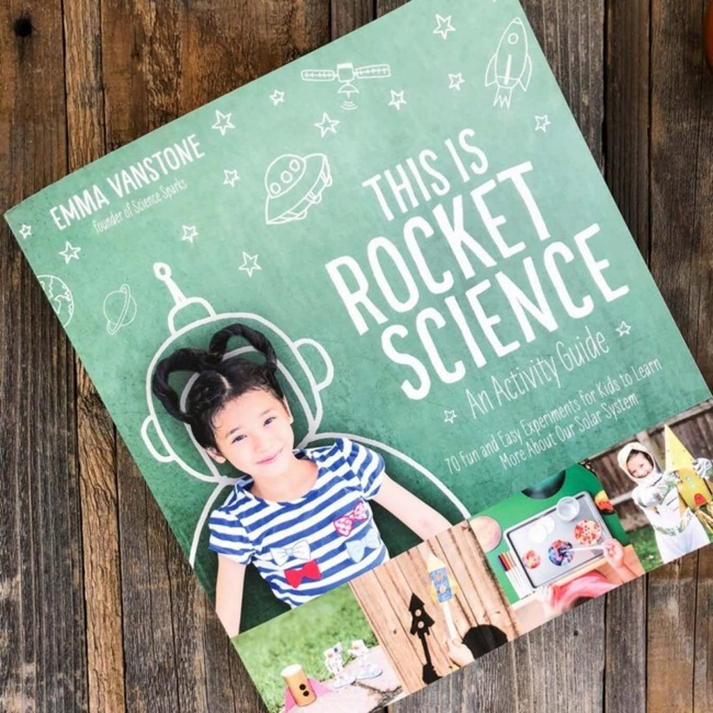 this is rocket science book by Emma Vanstone
