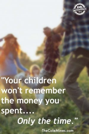 what your child will remember quote