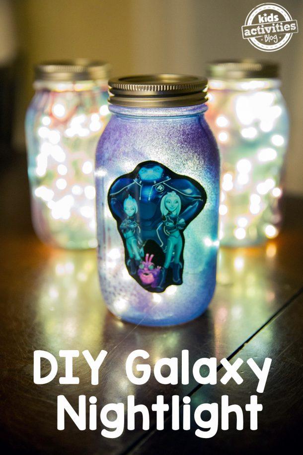 DIY Galaxy Nightlight