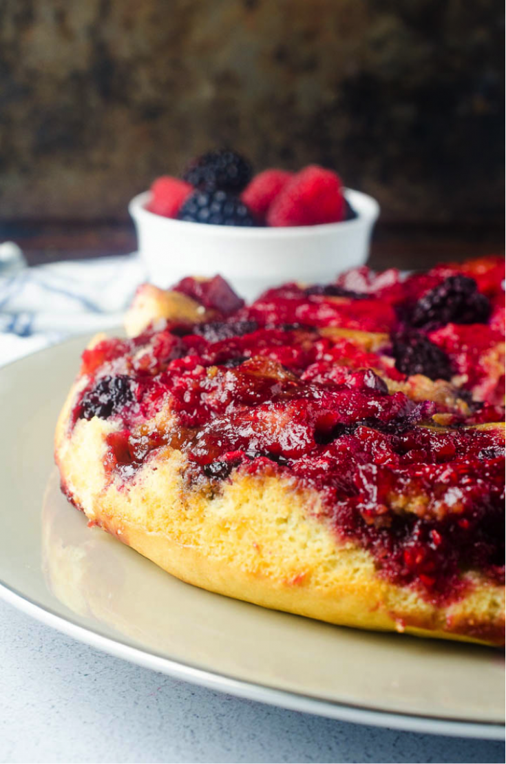 Berry Upside Down Cake Recipe