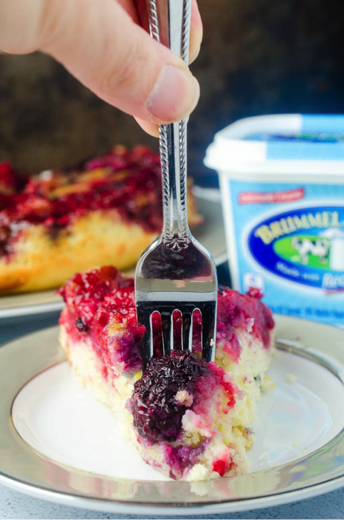 Berry Upside Down Cake Recipe - Kids Activities Blog
