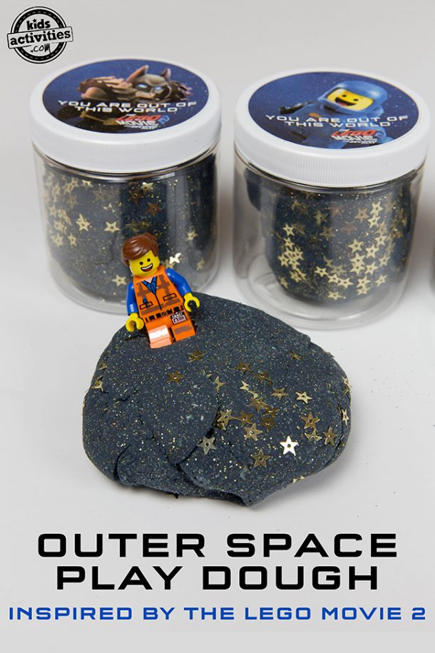 Outer Space Play Dough