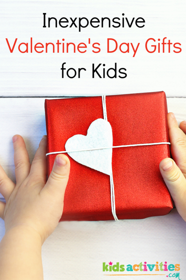 Inexpensive Valentine's Day Gifts for kids