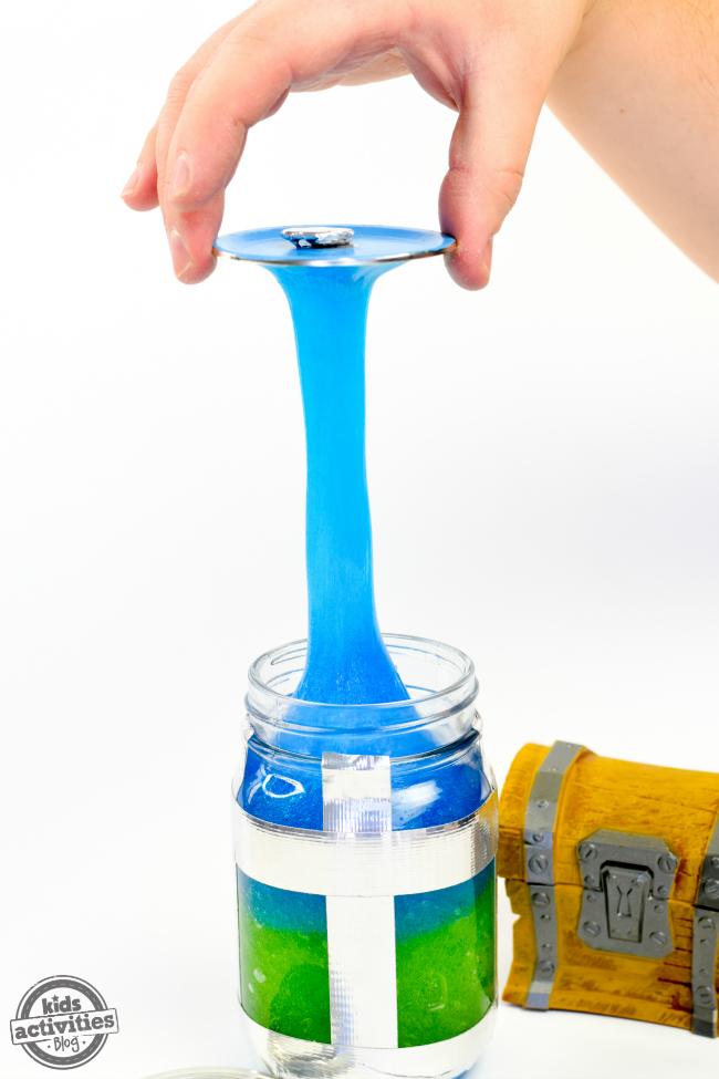 photograph about Chug Jug Printable titled Fortnite Chug Jug Slime A Fortnite Themed Do-it-yourself Slime