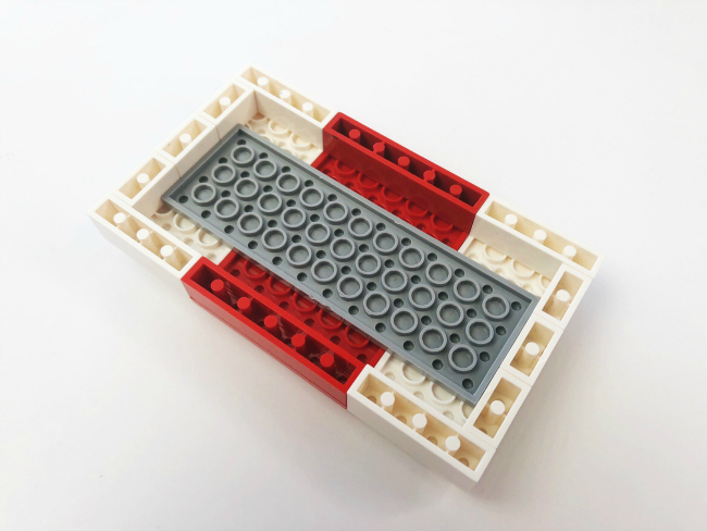 step 8 to build a LEGO Fortnite Medkit