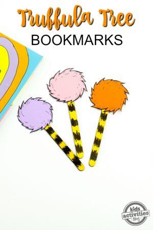 Truffula Tree Bookmarks