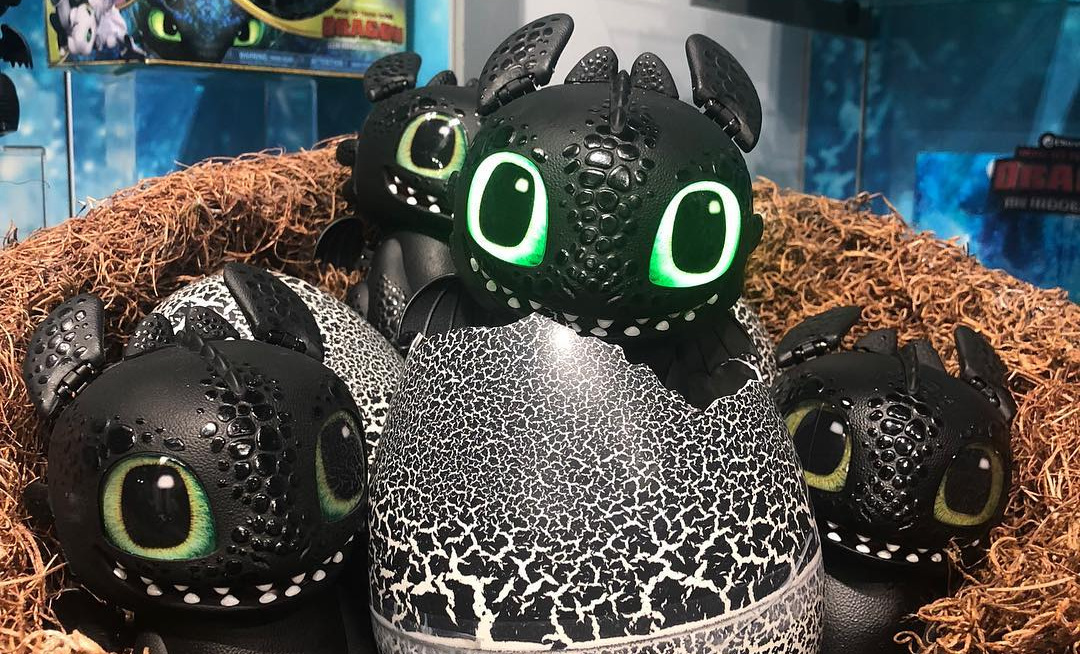 This Hatchimal Toothless Is The