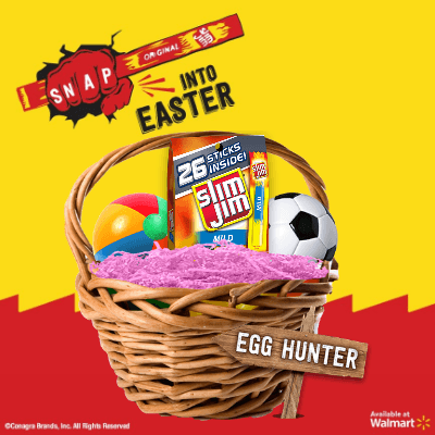 Slim Jim Digital Easter Basket
