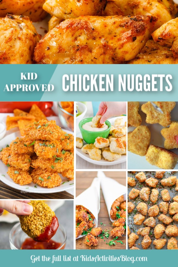 chicken nuggets recipes for kids