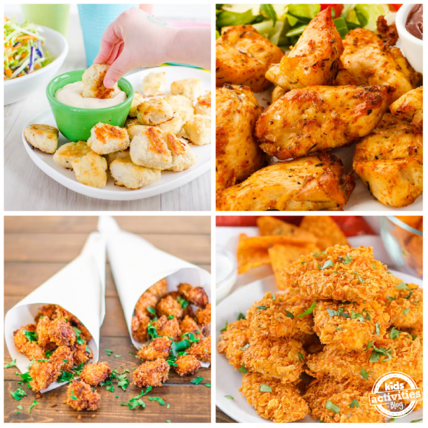 kid friendly chicken nuggets recipes