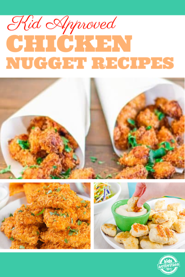 chicken nugget recipes for kids