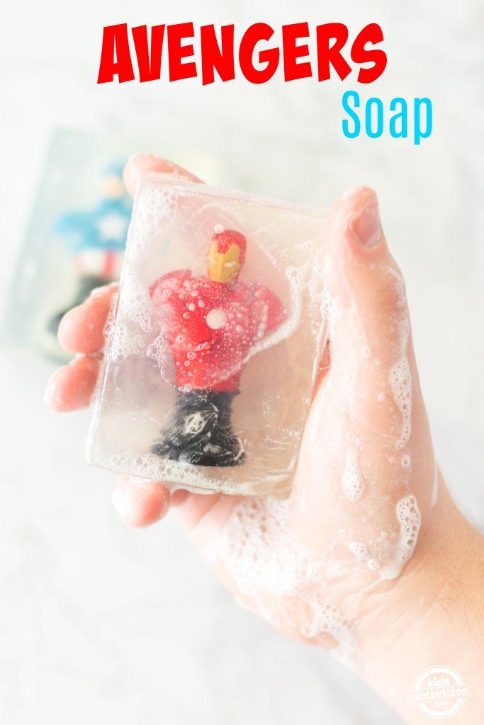 avengers soap