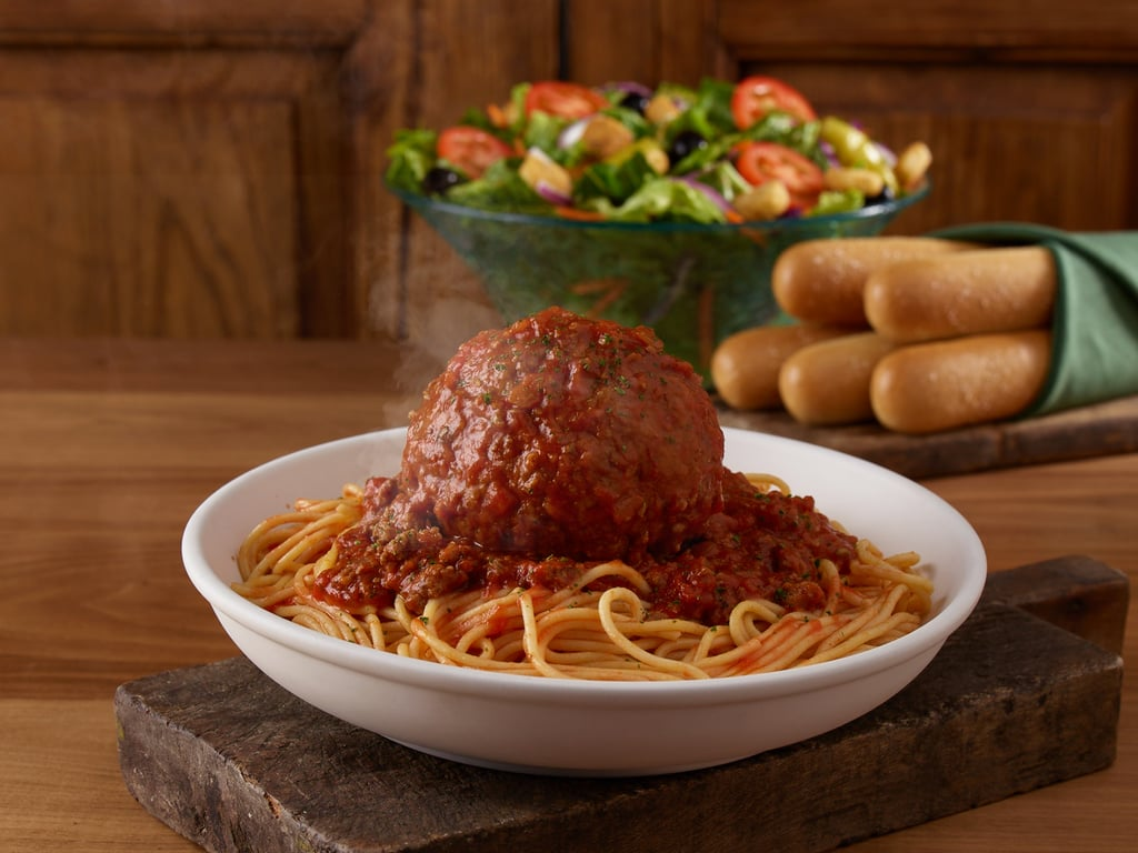 Menu For Olive Garden: Olive Garden Just Added GIANT Meatballs And A Foot Long