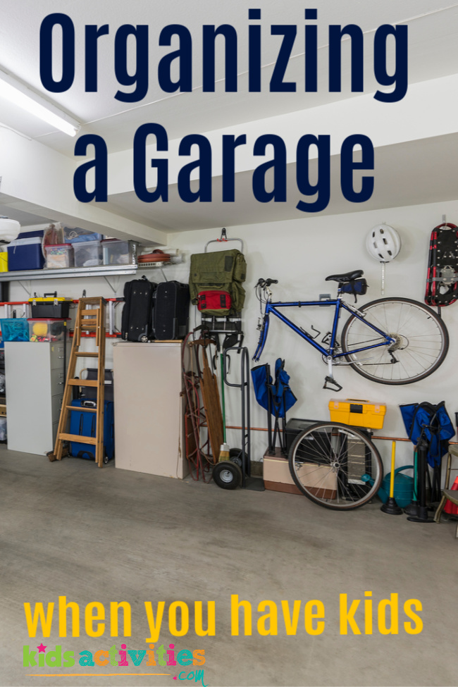 Cleaning The Garage When You Have Kids