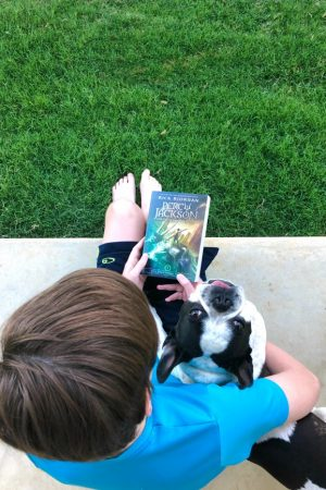 Summer Reading with Percy Jackson
