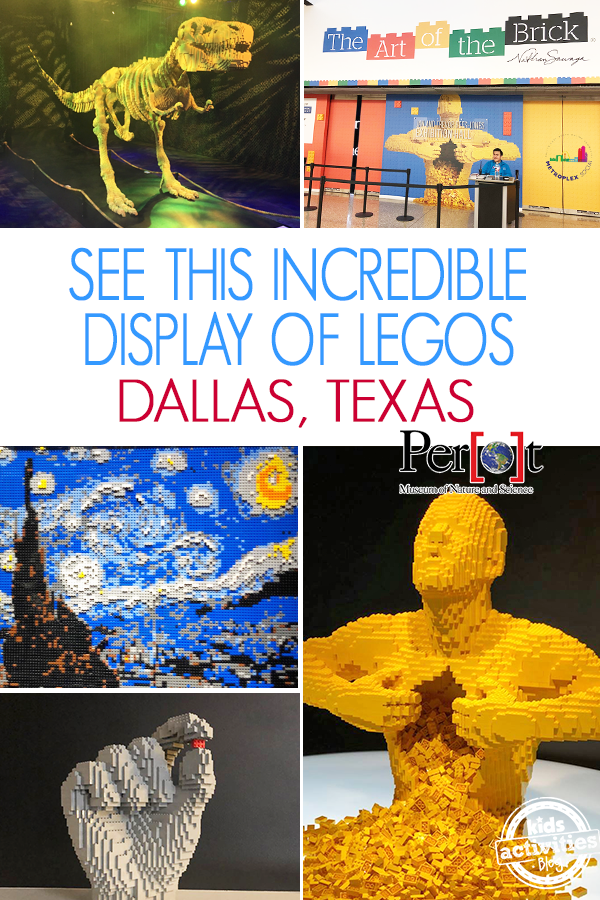 lego exhibit perot museum dallas
